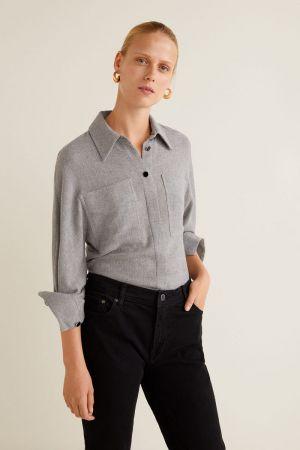 Mango košulja sa džepovima