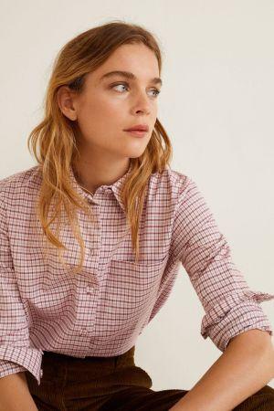 Karirana ženska košulja