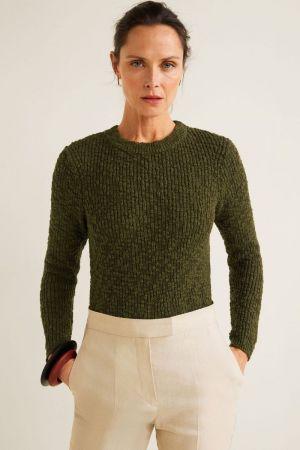 Maslinasti džemper