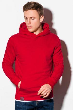 Crvena dukserica sa kapuljačom