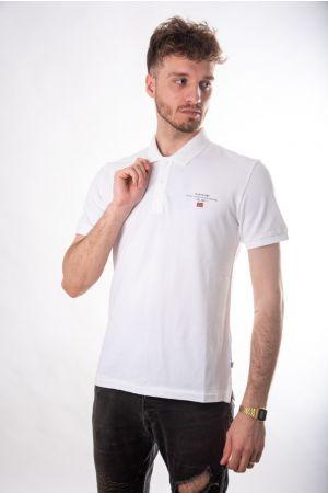 Polo majica bela
