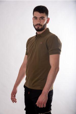 Maslinasta polo majica