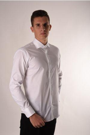 Roberto Cavalli luksuzna bela košulja