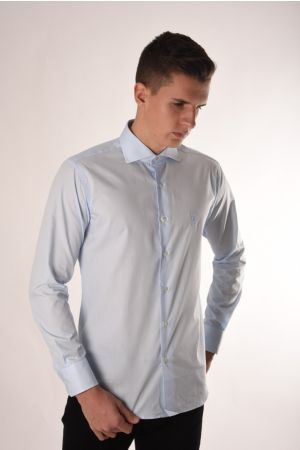 Roberto Cavalli svetlo plava elegantna košulja