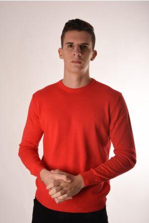 Trussardi crveni džemper