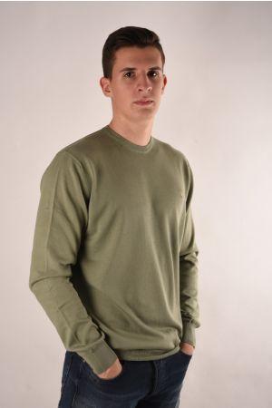 Trussardi maslinasti džemper