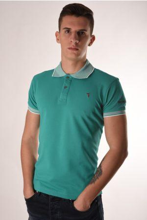 Trussardi zelena polo majica
