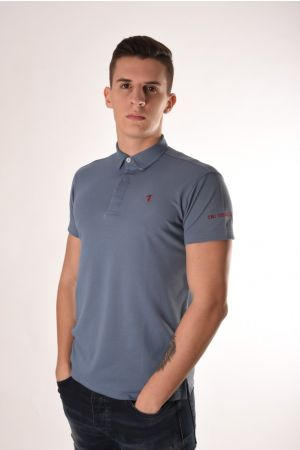 Trussardi plava polo majica