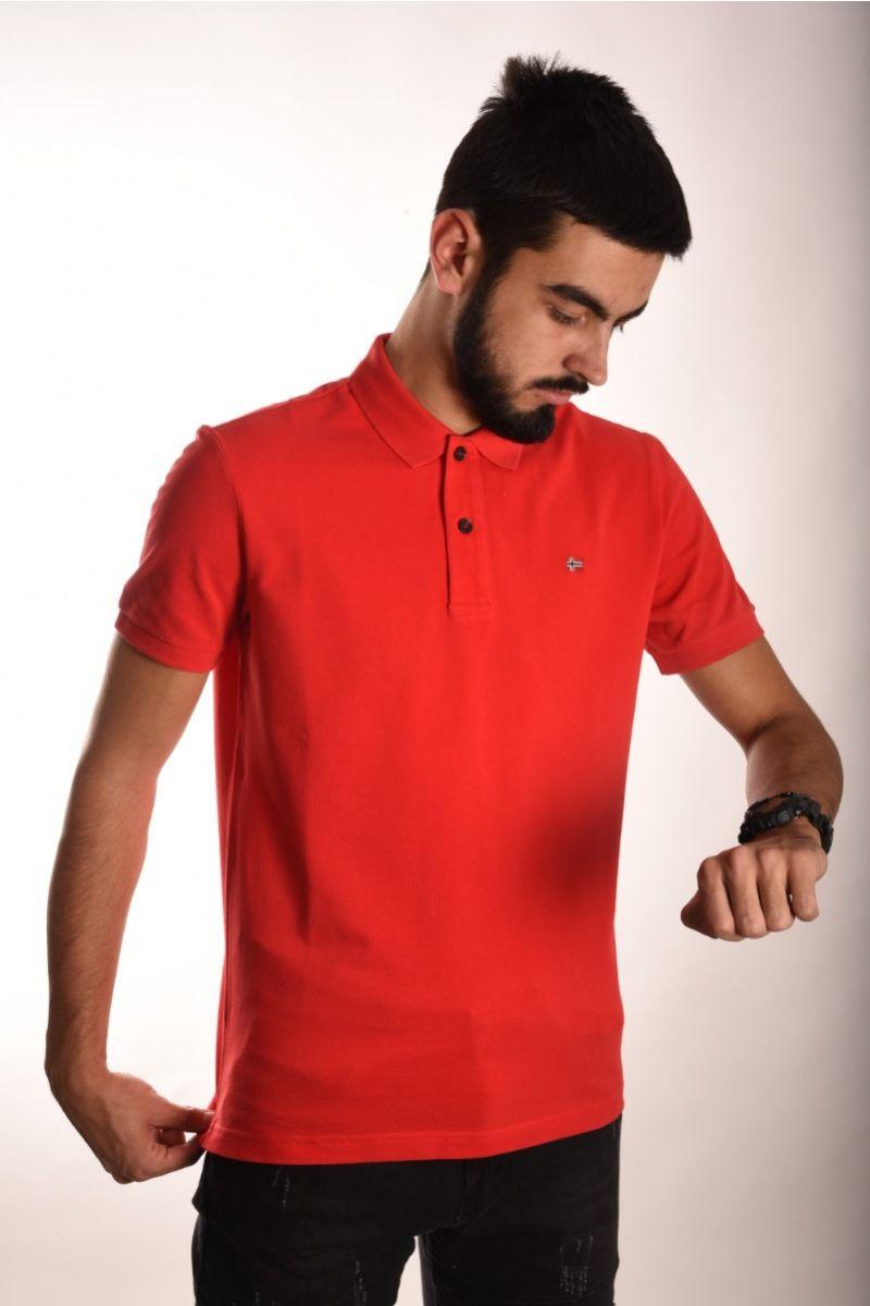 Polo majica crvena
